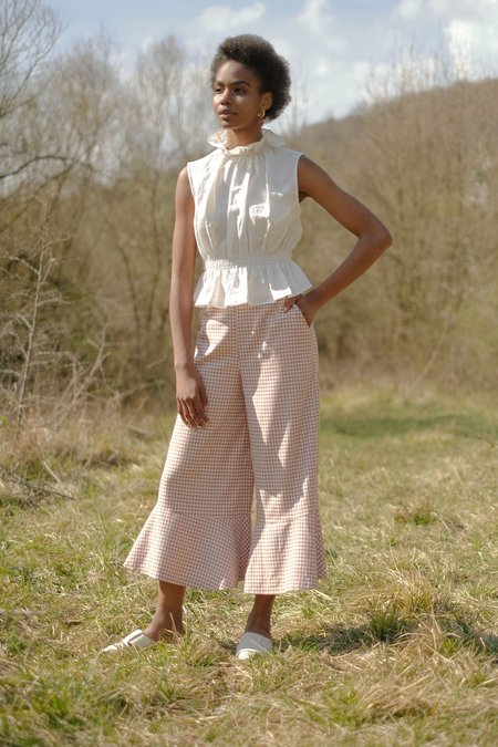 OhSevenDays Monday Ruff Trousers - Pink