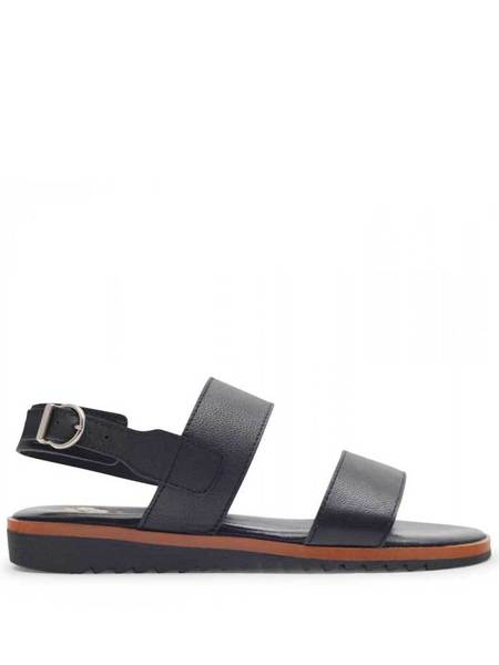 Hudson Sofia Leather Sandal - Black