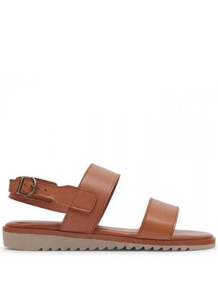 Hudson Sofia Leather Sandal - Tan