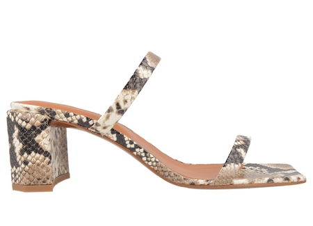 BY FAR Tanya in Snake Print Leather