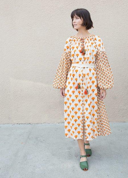 Aish Pushkin Dress - Marigold