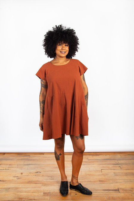 Allison Wonderland & Pillar Cyclades Dress - Copper