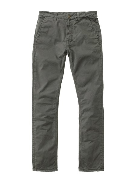 Nudie Jeans Slim Adam Chino - Khaki