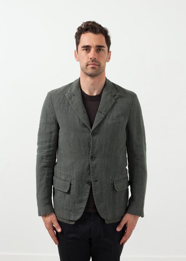 Men's Lardini Five Button Cotton Blazer