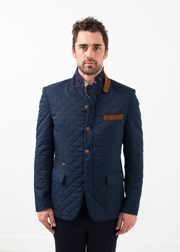 Men's Circle of Gentlemen Milton Jacket - Navy