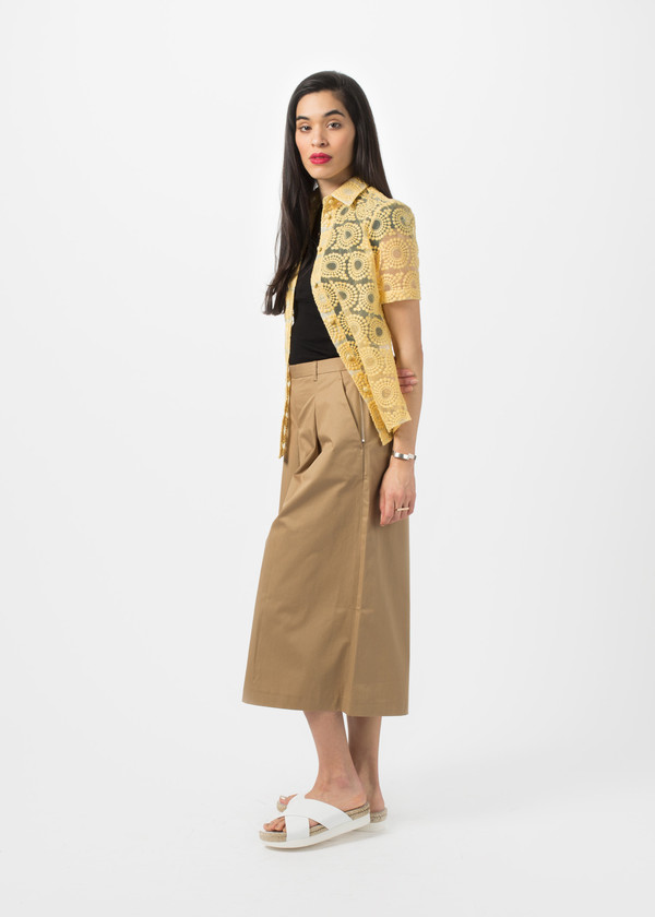 You Must Create Side Zip Culottes