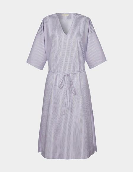 Son Trava Akulina Cotton Dress - stripes