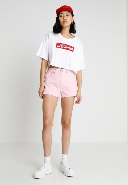 Levi's 501 High Short - Light Pink Short