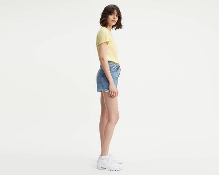 Levi's 501 High Rise Shorts - Flat Broke