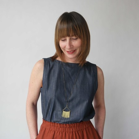 Lu. Frolic Top No. 2 - Chambray Union