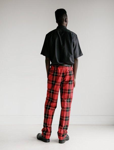 Cobra SC Classics Cotton Trouser - Red/Black Plaid