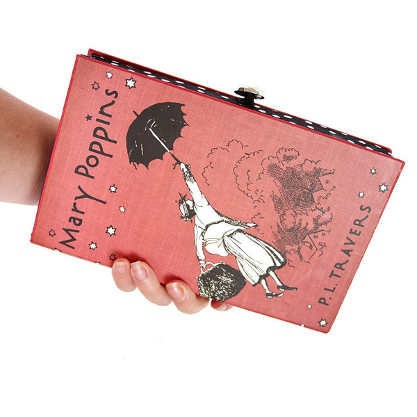 Chick Lit Designs Mary Poppins Book Clutch