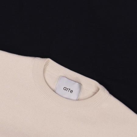 Arte Antwerp Ken Sweater - Creme