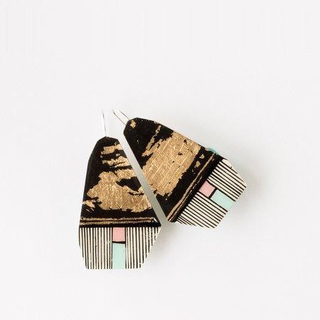 Johanne Ratté Hand-Painted Earrings
