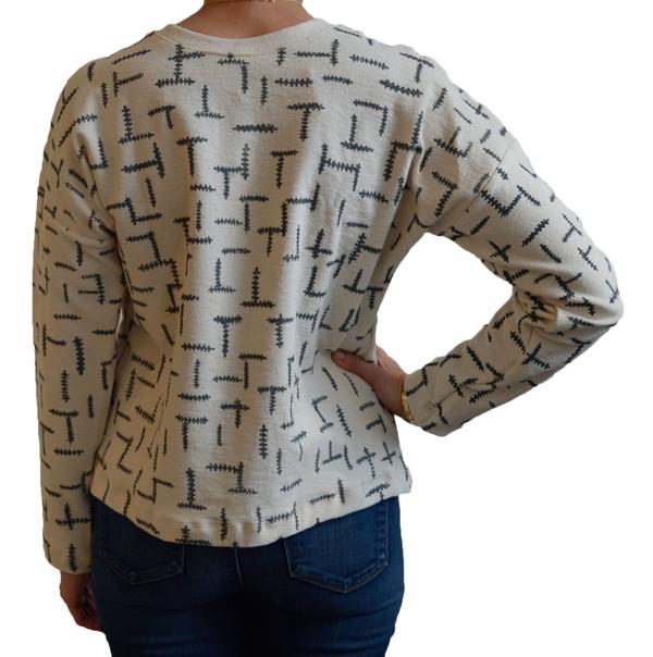 Make It Good Fern Canvas Sweatshirt