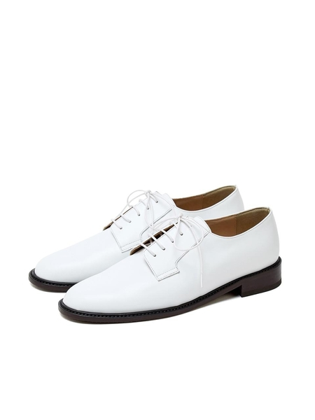 LOYIQ Derby Shoes - White