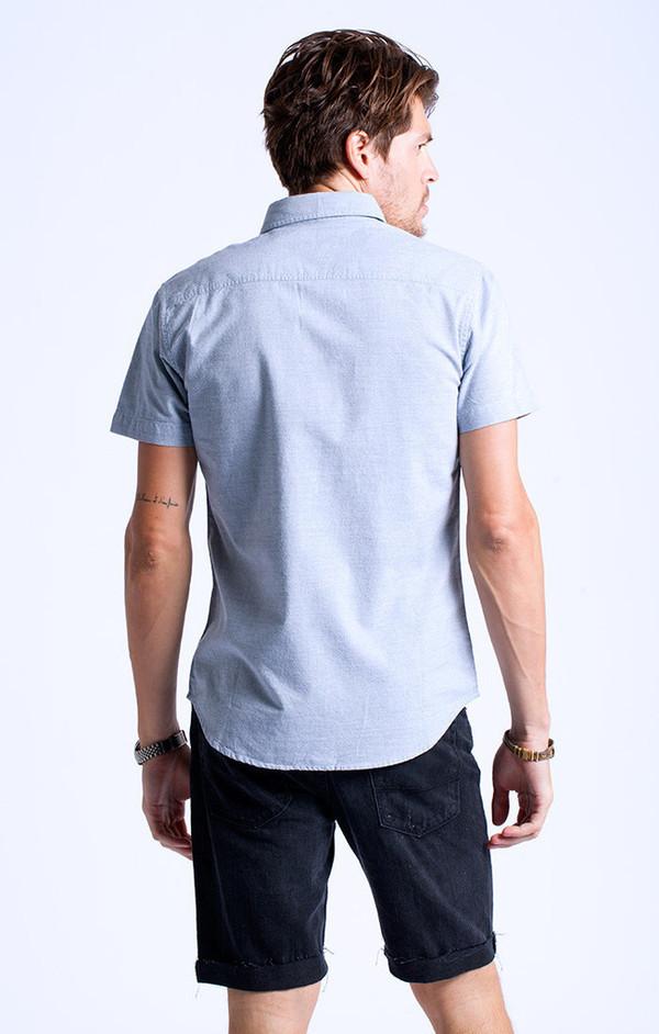 Men's Sol Angeles Ikat Chambray Short Sleeve Shirt