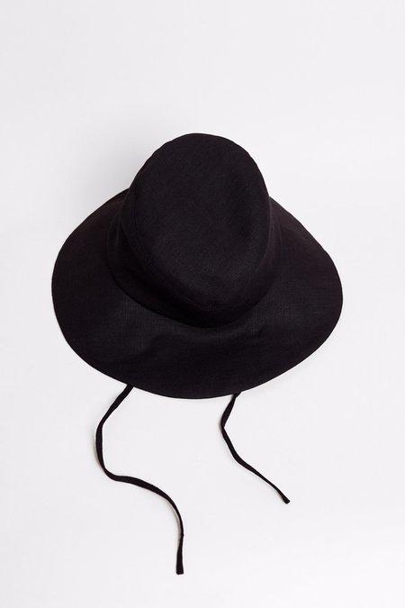clyde fur shearling fleece bucket hat black on garmentory