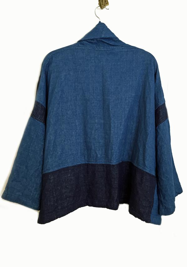 Atelier Delphine Patchwork Kimono Jacket