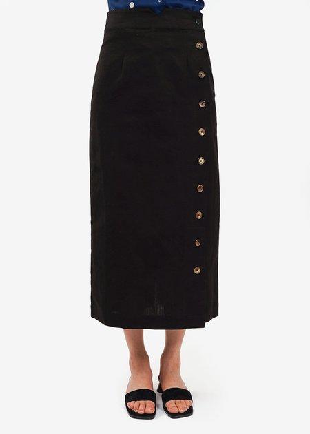 Ajaie Alaie Ink Transitional Skirt - Black