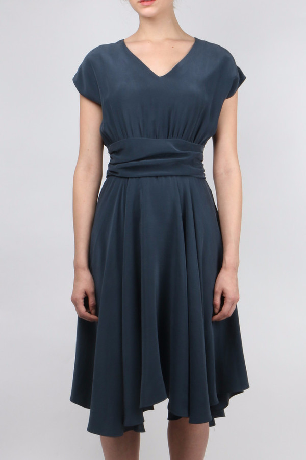 La Robe Camelia Silk Dress