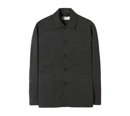 Universal Works Bakers Jacket - Black Twill