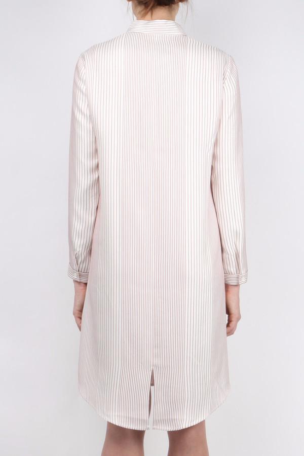 Atea Oceanie Silk Striped Tunic Dress