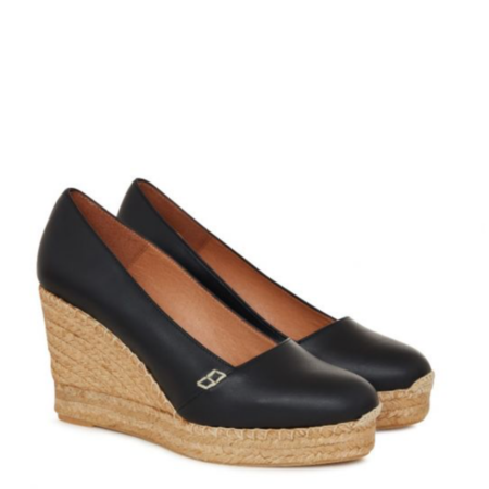 Penelope Chilvers Colina Leather Espadrille Wedge