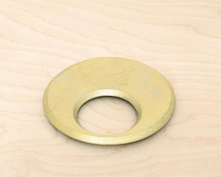 Four Design Moon Trivet - Brass