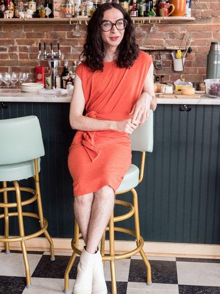 Eve Gravel Amores Dress - Tomato