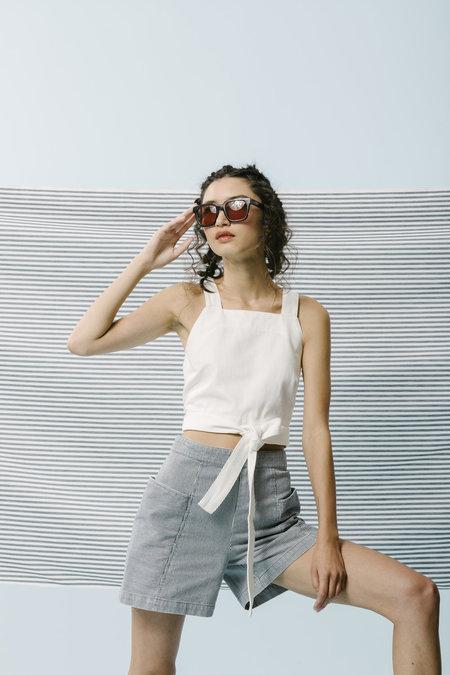 Carleen Pocket Shorts - Stripe