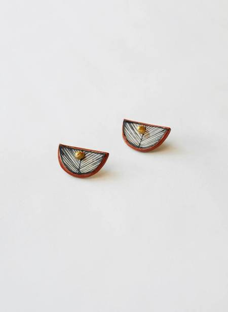Hechizo Fan Ear Jacket Earrings