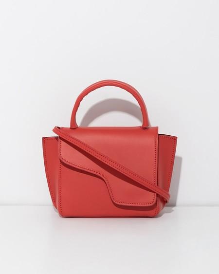 ATP ATELIER Montalcino Mini Handbag - Red Tomato