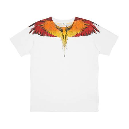 Marcelo Burlon Glitch Wings T-Shirt - White
