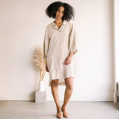 Ilana Kohn Harrison Dress - Oat