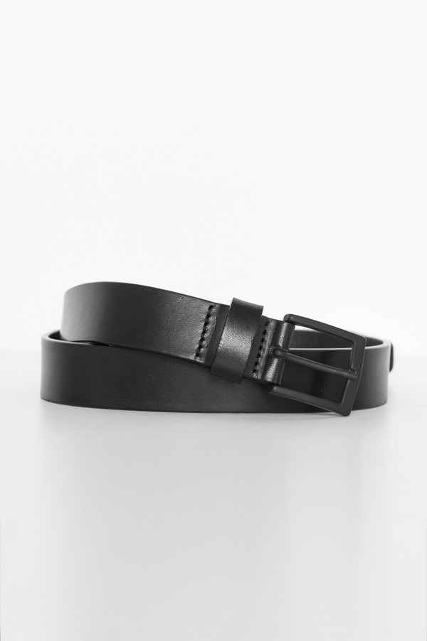 Hope Leather Mid Belt