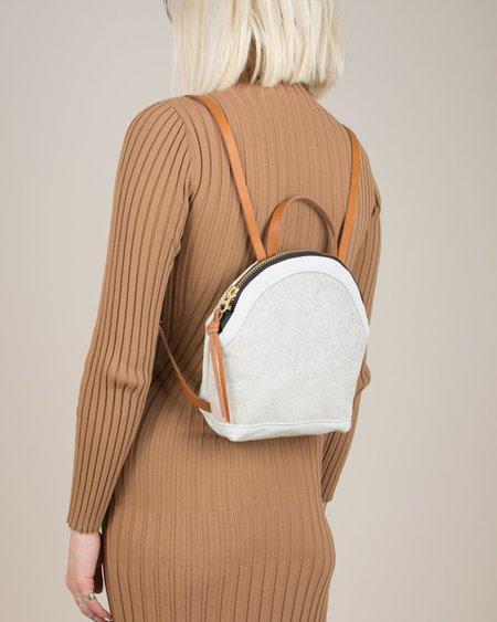 Eleven Thirty Anni Mini Backpack - White Cowhide