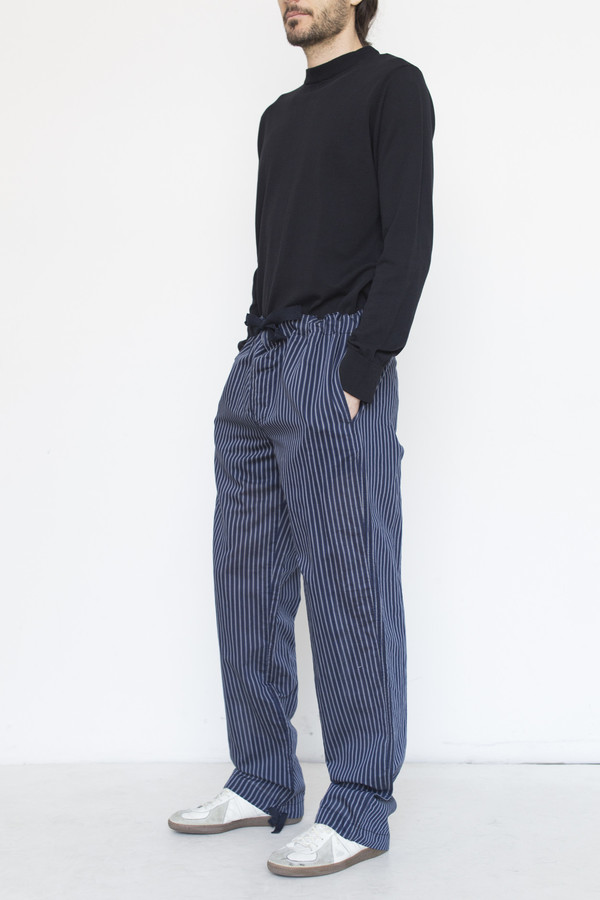 Our Legacy Silk Stripe Breath Pant