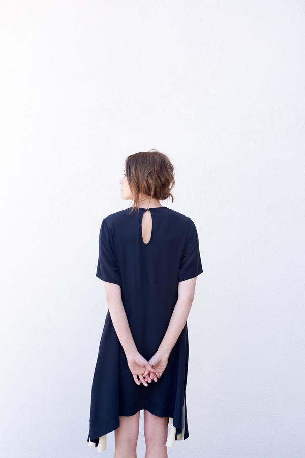 Kamperett Sutro Silk Swing Dress