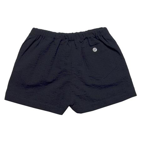 Kids Makié Parker Shorts - Dark Navy Blue Stripes