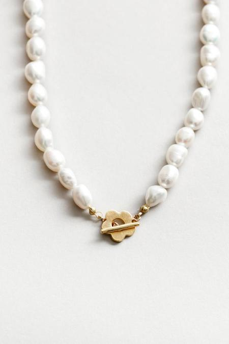 Wolf Circus Lola Pearl Necklace - 14k Gold