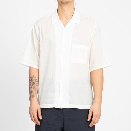 S.K. Manor Hill Aloha Shirt - Translucent Natural