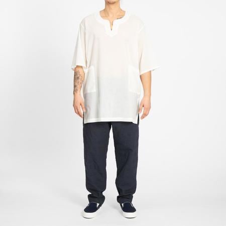 S.K. Manor Hill Oba Shirt - Translucent Natural