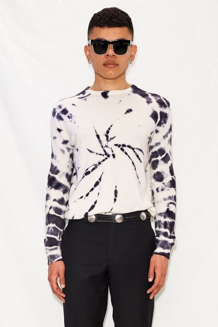 unisex Assembly Cashmere Sweater - Tie Dye