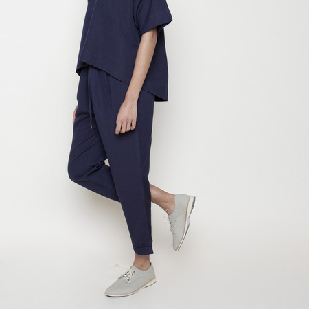 7115 by Szeki Drawstring Relaxed Pant- Navy SS16