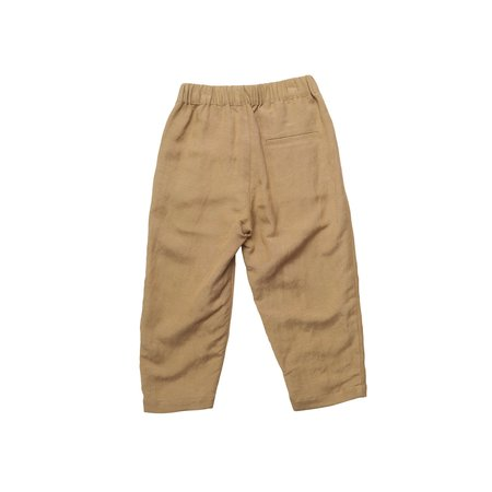 unisex kids East End Highlanders Lounge Trouser - Beige