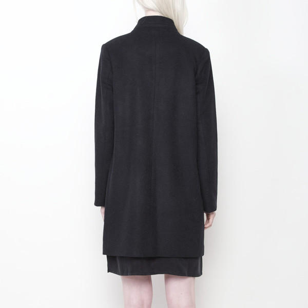 7115 by Szeki Long Wool Blazer FW15 - Charcoal