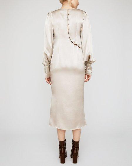 INGA-LENA The Herold Dress - Shimmery Sand