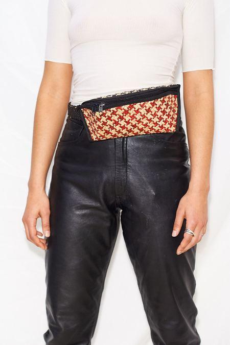 Unisex Banago Woven Waist Bag