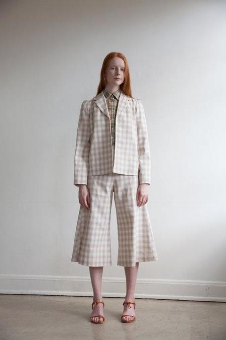 Town Clothes Regina Jacket - Plaid